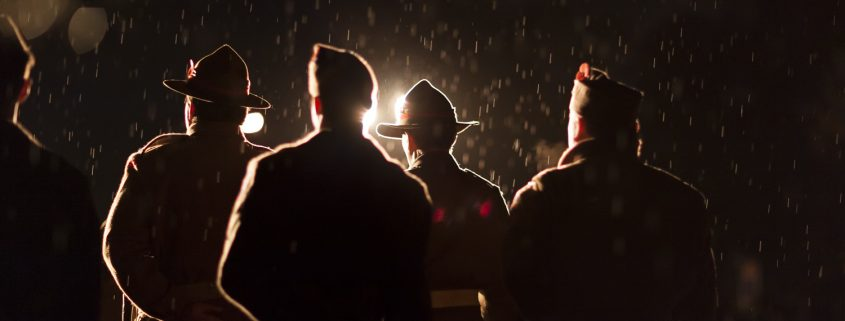 ANZAC Dawn Service soldiers