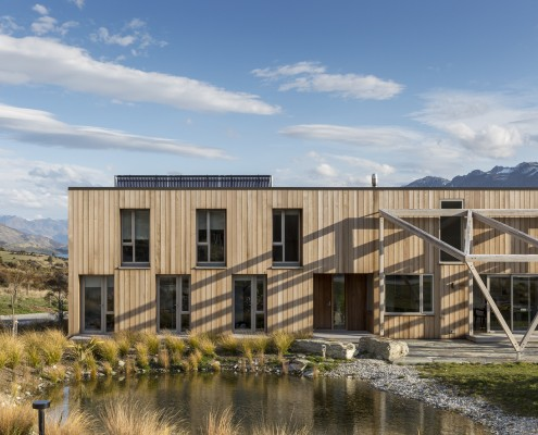 Aro Hā Lodge // ARCHITECTURE NZ / TENNENT + BROWN ARCHITECTS