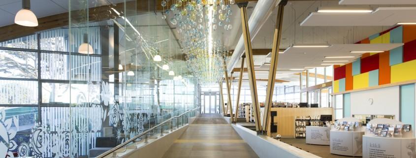 Otahuhu Library // ROYCROFT BROWN / METRO GLASS