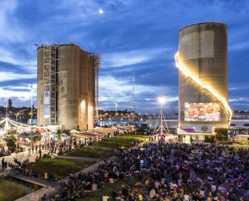 Silo Cinema // WATERFRONT AUCKLAND