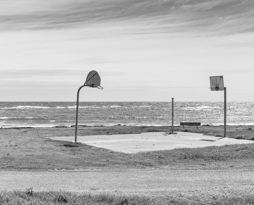 """Basketball Court // """"Up The Coast"""" Exhibition / DEPOT ARTSPACE"""