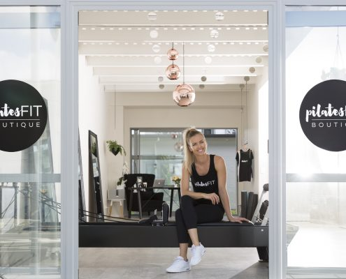 Pilates studio owner at pilatesFIT BOUTIQUE in Hobsonville