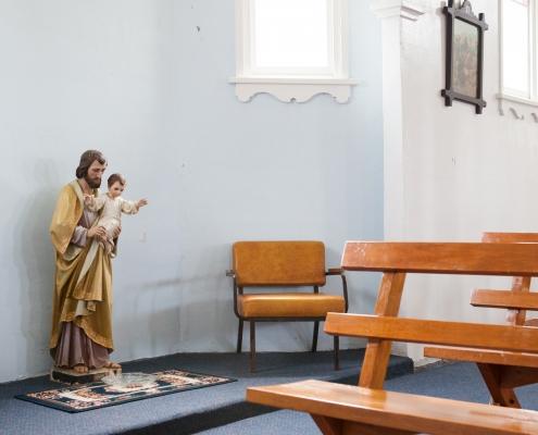 St Joseph with Jesus at HaTo KereTi